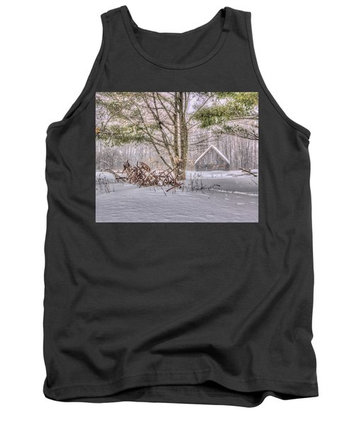 Winter At The Woods Tank Top