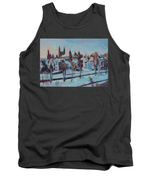 Winter Basilica Our Lady Maastricht Tank Top