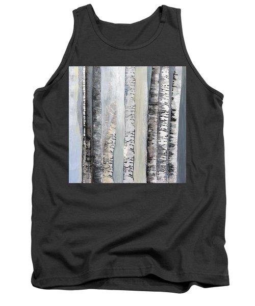 Winter Birches Tank Top