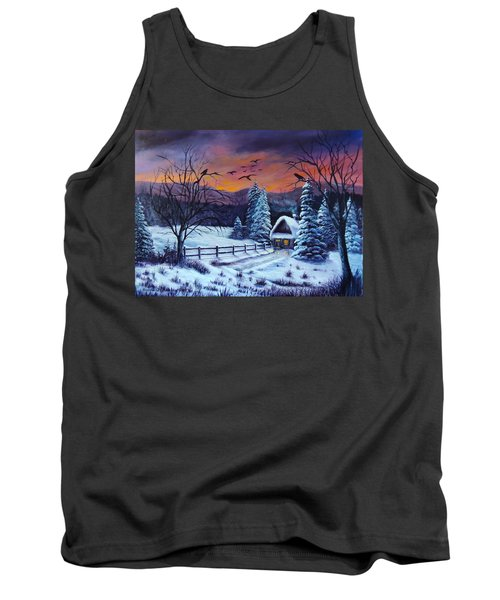 Winter Evening 2 Tank Top