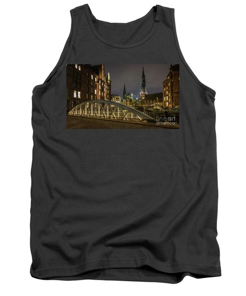 Winter Evening In Hamburg  Tank Top