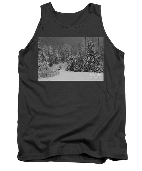 Tank Top featuring the photograph Winter Fairy Tale by Yulia Kazansky