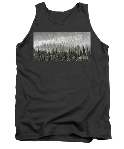 Winter Forest Tank Top