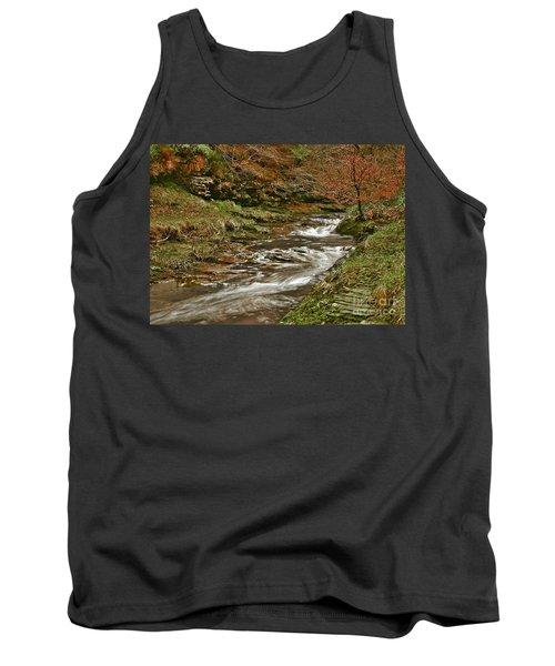 Winter Forest Stream Tank Top