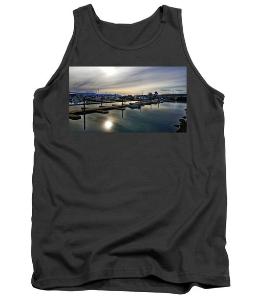 Winter Harbor Revisited #mobilephotography Tank Top