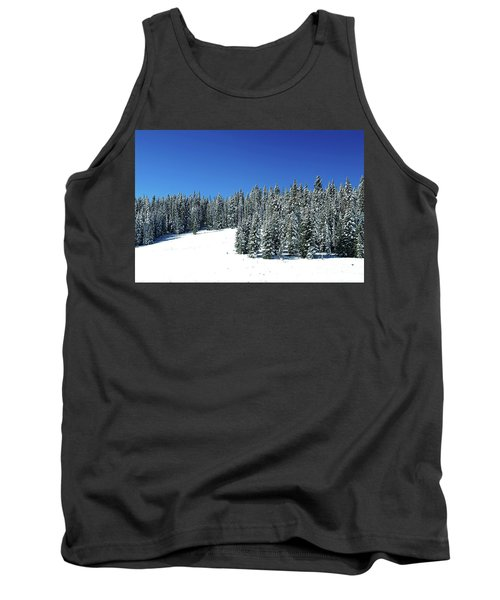 Winter In Colorado  Tank Top