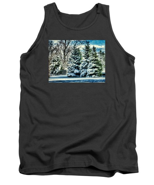 Winter In New England Tank Top