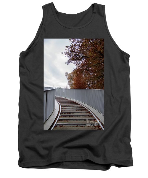 Winter Is Around The Corner Tank Top by Ana Mireles