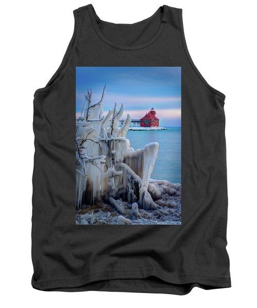 Winter Lighthouse Tank Top