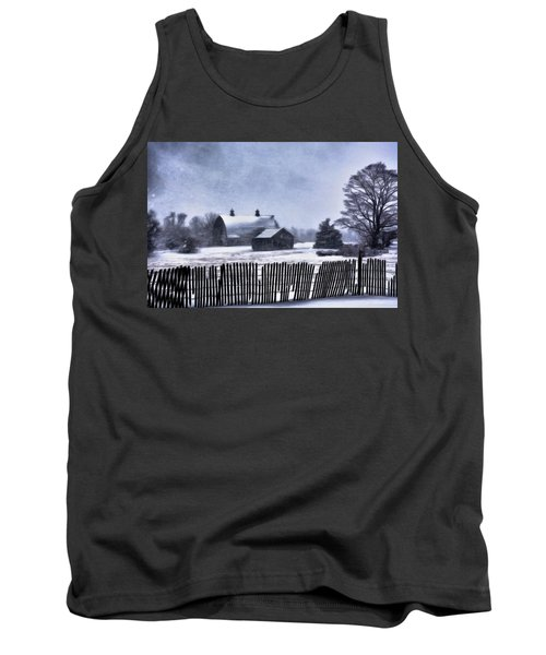 Tank Top featuring the photograph Winter by Mark Fuller