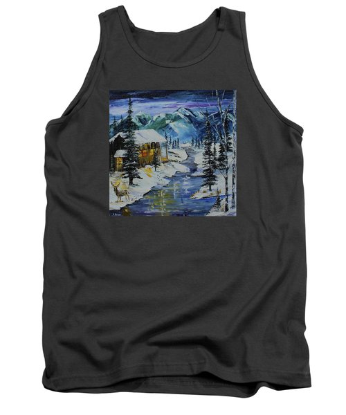 Winter Mountains Tank Top