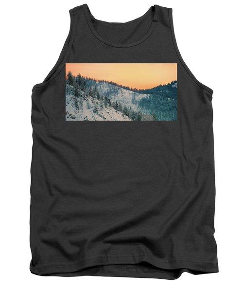 Winter Mountainscape  Tank Top