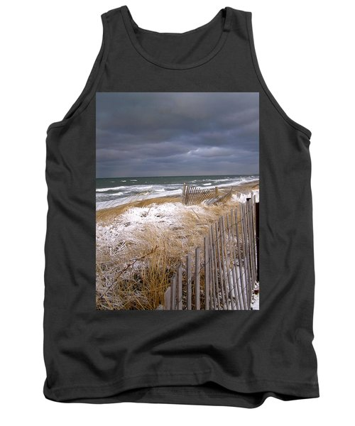 Winter On Cape Cod Tank Top