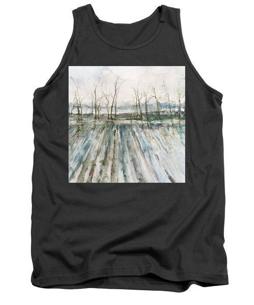 Winter On The Delta Tank Top by Robin Miller-Bookhout