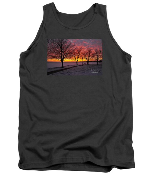 Tank Top featuring the photograph Winter Park by Terri Gostola