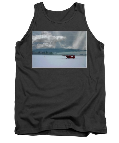 Winter Plane Tank Top