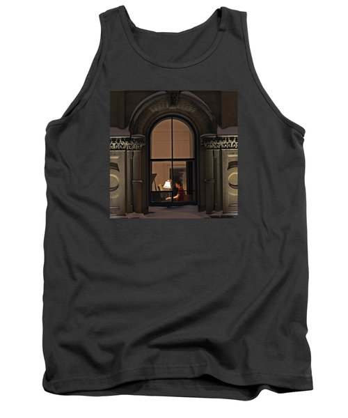 Tank Top featuring the photograph Winter Rehearsal by Stephen Flint