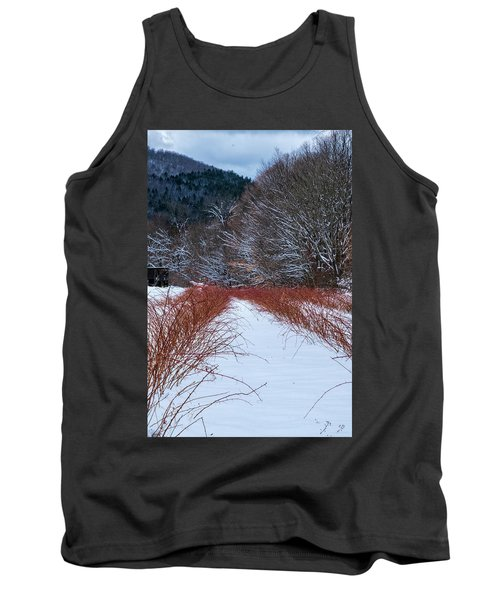 Winter Scene Tank Top