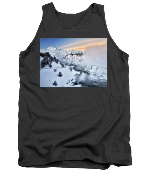 Winter Steam  Tank Top by Nicki Frates