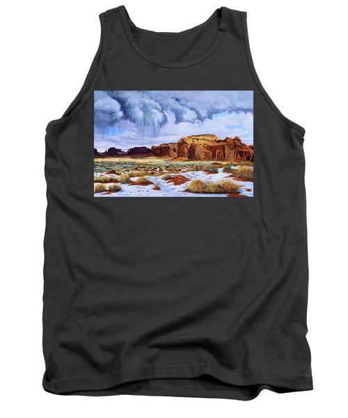 Winter Storm In Mystery Valley Tank Top