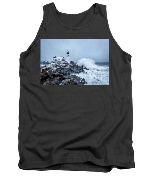 Winter Storm, Portland Headlight Tank Top