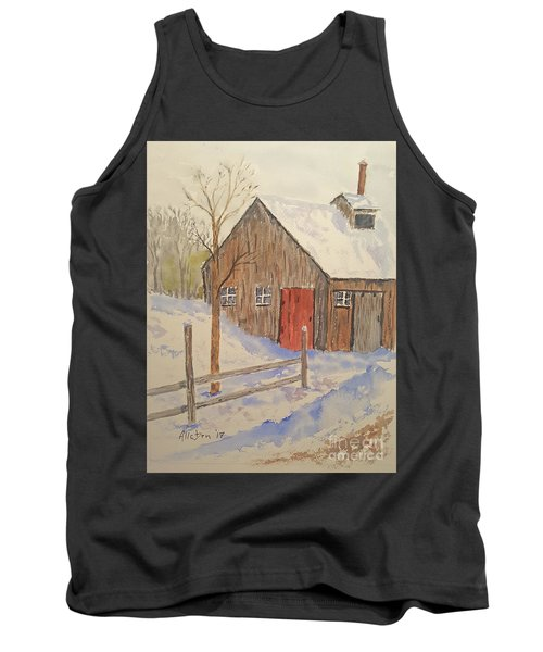 Winter Sugar House Tank Top by Stanton Allaben