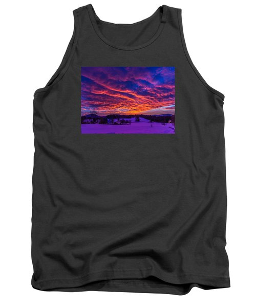 Winter Sunrise Tank Top by Tim Kirchoff