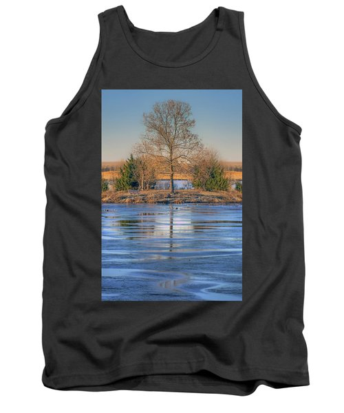 Winter Tree - Walnut Creek Lake Tank Top
