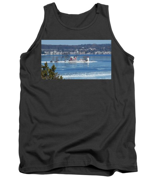 Winter View Of Crossover Island Tank Top