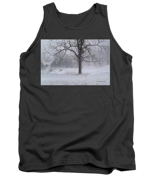 Tank Top featuring the photograph Winter Walnut by Denise Romano