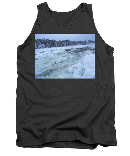 Winter Waterfall Tank Top