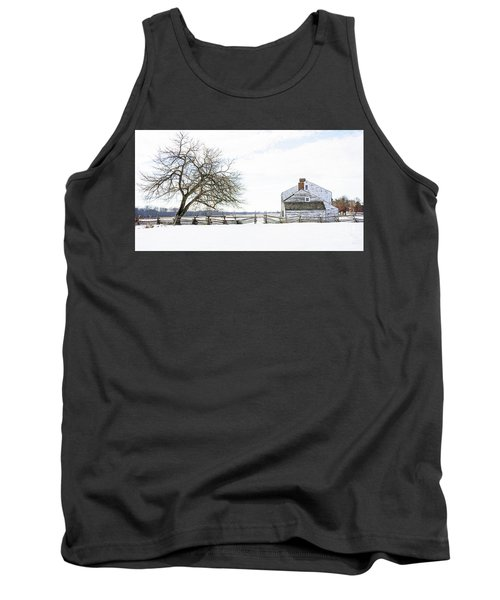 Winter White Out Tank Top