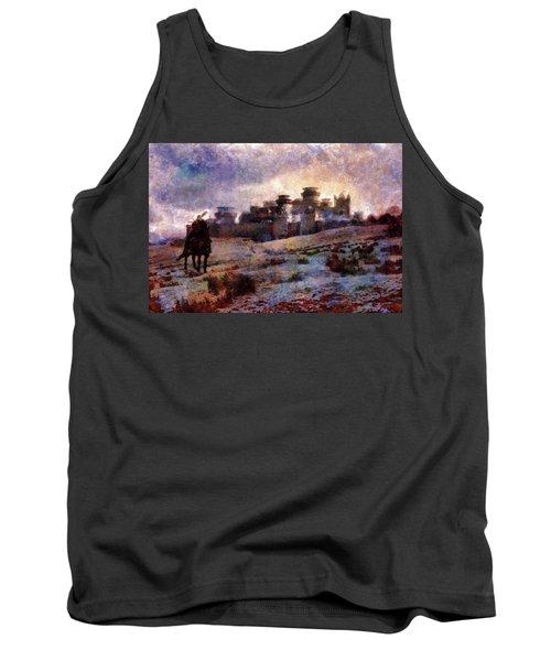 Winterfell Tank Top by Lilia D