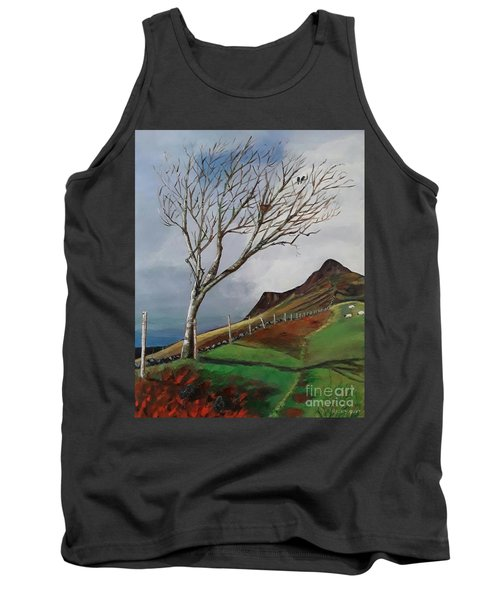Winter's Day At Yewbarrow -painting Tank Top