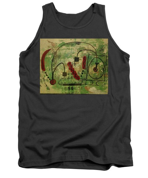 Wired Composition Enigma Tank Top