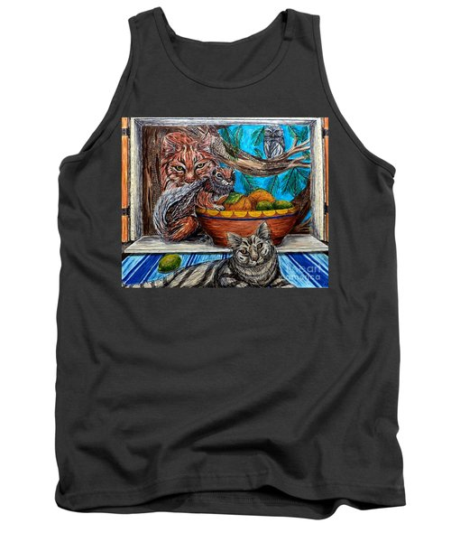 Wisdom Would Say Tank Top