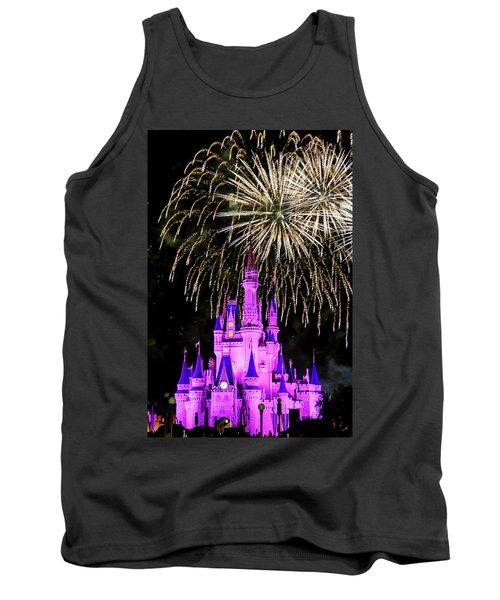 Wishes Fireworks Disney World  Tank Top