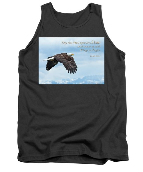 With Wings As Eagles Tank Top