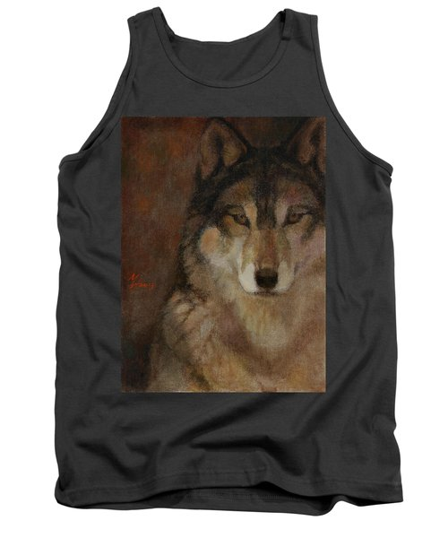 Wolf Head Tank Top