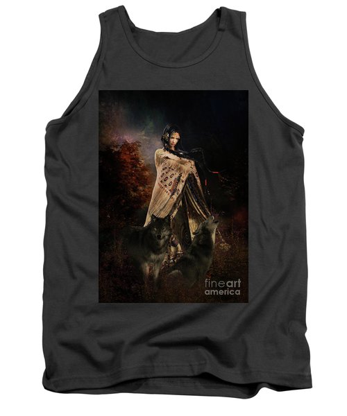 Wolf Song Tank Top by Shanina Conway