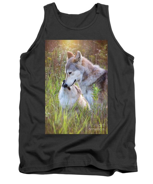 Wolf Soul Mates Tank Top