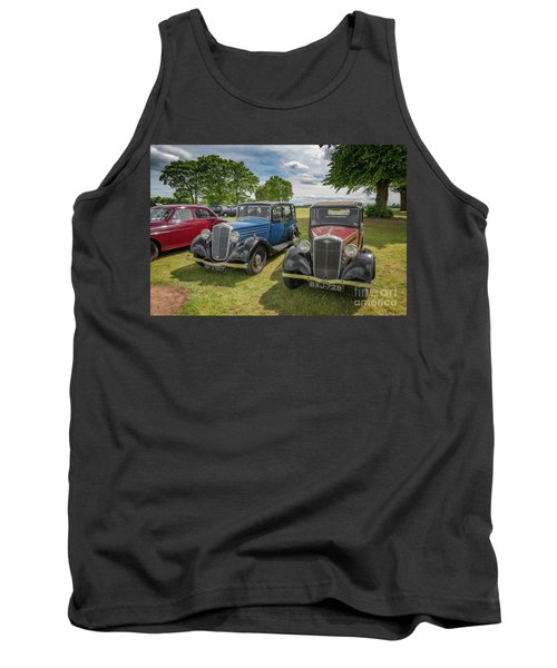 Tank Top featuring the photograph Wolseley Motors by Adrian Evans