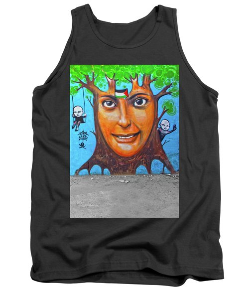 Tank Top featuring the photograph Woman Tree by Munir Alawi