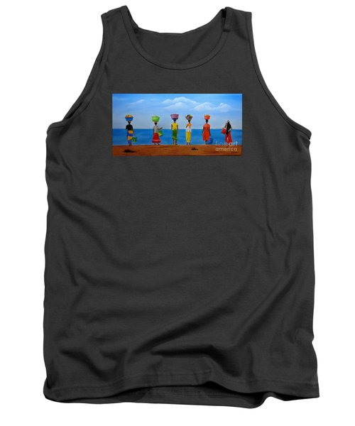 Women Of Africa  Tank Top by Bev Conover