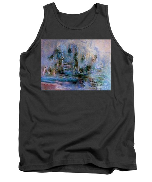 Wood Art  Lost In Time Tank Top