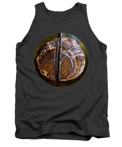 Wood Carved Fossil Tank Top