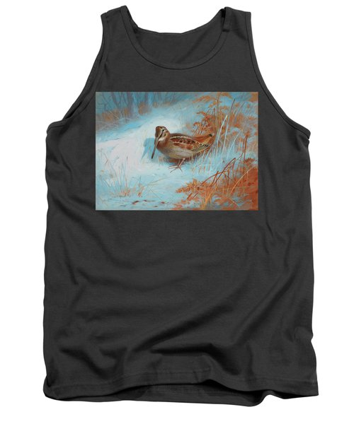 A Woodcock In The Snow Tank Top