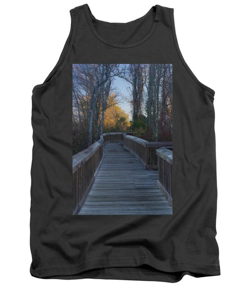 Wooden Path Tank Top