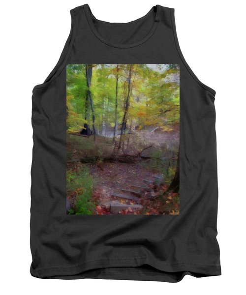 Woodland Steps Tank Top