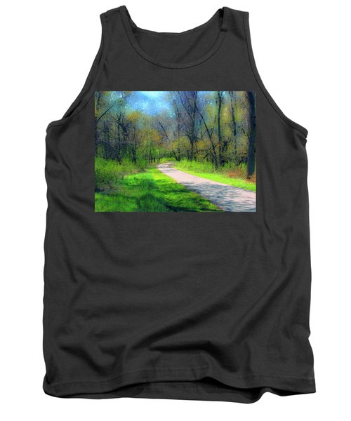 Woodland Trail Tank Top by Cedric Hampton